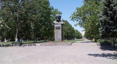Photo of Monument / Landmark Пам'ятник Тарасу Шевченку / Taras Shevchenko memorial at Просп. Текстильників, Херсон 73000, Ukraine