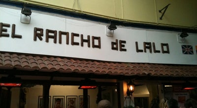 Photo of Latin American Restaurant El Rancho De Lalo at 94 Brixton Village, Lambeth SW9 8ps, United Kingdom
