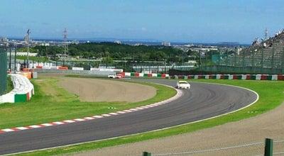 Photo of Racetrack 鈴鹿サーキット 逆バンク at 稲生町7992, 鈴鹿市 510-0295, Japan
