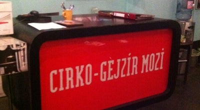 Photo of Indie Movie Theater Cirko-Gejzír Filmszínház at Balassi Bálint U. 15-17., Budapest 1055, Hungary