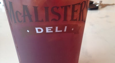 Photo of Sandwich Place McAlister's Deli at 24200 Southwest Fwy #602, Rosenberg, TX 77471, United States
