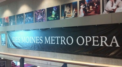 Photo of Opera House Des Moines Metro Opera at 106 W Boston Ave, Indianola, IA 50125, United States