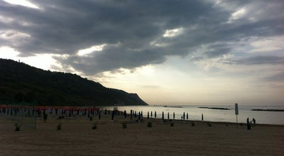 Photo of Beach Baia Flaminia at Baia Flaminia, Pesaro 61121, Italy
