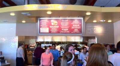 Photo of Fast Food Restaurant Habit Burger Grill at 1115 E Bidwell St, Folsom, CA 95630, United States