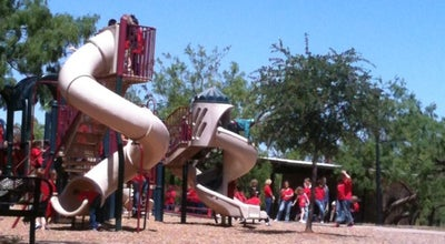 Photo of Theme Park Nelson Park Playground at Abilene, TX, United States