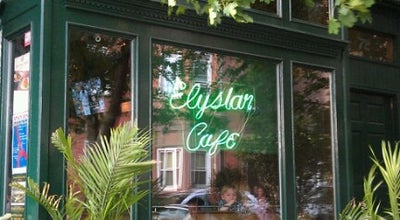 Photo of French Restaurant Elysian Cafe at 1001 Washington St, Hoboken, NJ 07030, United States