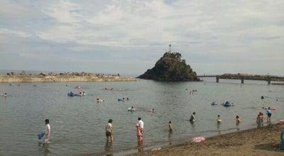 Photo of Beach 能生海水浴場 at 能生, 糸魚川市, Japan