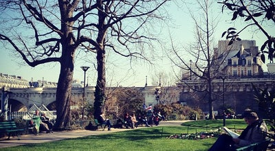 Photo of Park Square du Vert Galant at Square Du Vert Galant, Paris 75001, France