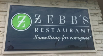 Photo of American Restaurant Zebb's Family Restaurant at 2701 W Morgan Ave, Milwaukee, WI 53221, United States