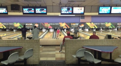 Photo of Bowling Alley AMF Peach Lanes at 1636 Bradley Park Dr, Columbus, GA 31904, United States