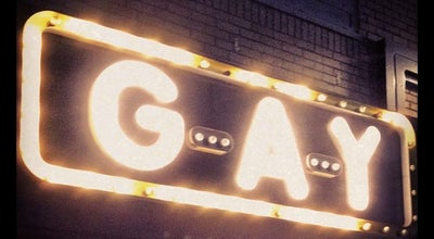 Photo of Gay Bar G-A-Y Bar at 30 Old Compton St, London W1D 4UR, United Kingdom