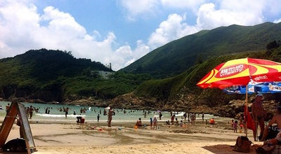Photo of Beach Big Wave Bay Beach at Big Wave Bay Rd, Shek O, Hong Kong