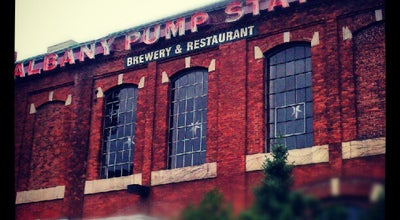 Photo of Brewery C.H. Evans Brewing Co. at the Albany Pump Station at 19 Quackenbush Sq, Albany, NY 12207, United States