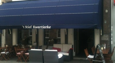 Photo of Modern European Restaurant 't stief kwartierke at Halstraat 32, Breda 4811 HX, Netherlands