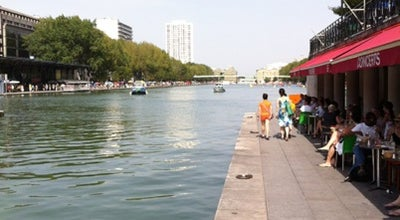 Photo of Lake Bassin de la Villette at Quai De La Loire, Paris 75019, France