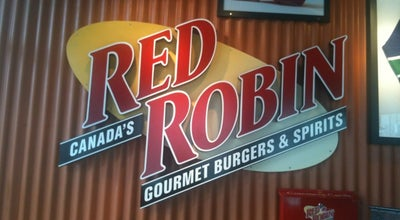 Photo of Burger Joint Red Robin Gourmet Burgers at 803 Thurlow Street, Vancouver, BC V6E 1W1, Canada