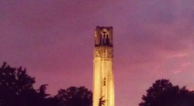 Photo of Monument / Landmark Memorial Belltower at 2100 Hillsborough St, Raleigh, NC 27607, United States
