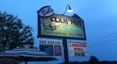 Photo of Seafood Restaurant Bob's Clam Hut at 315 Us Route 1, Kittery, ME 03904, United States