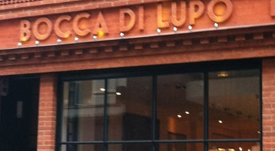 Photo of Italian Restaurant Bocca Di Lupo at 12 Archer St, Soho W1D 7BB, United Kingdom