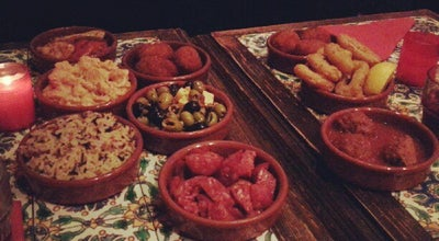 Photo of Tapas Restaurant Les Piétons at 8 Rue Des Lombards, Paris 75004, France