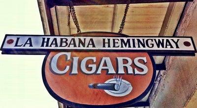 Photo of Smoke Shop La Habana Hemingway Cigars at 514-598 Toulouse St, New Orleans, LA 70130, United States