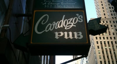 Photo of Bar Cardozo's Pub at 170 W Washington St, Chicago, IL 60602, United States