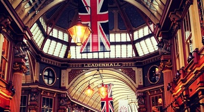 Photo of Market Leadenhall Market at Gracechurch St, London EC3V 1LT, United Kingdom