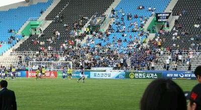 Photo of Soccer Stadium 인천축구전용경기장 (Incheon Stadium) at 중구 참외전로 246, Incheon 22328, South Korea