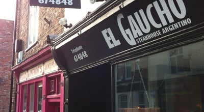 Photo of Argentinian Restaurant El Gaucho at 48 Walmgate, York YO1 9TJ, United Kingdom