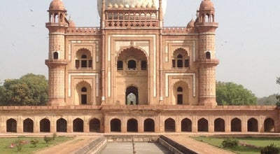 Photo of Historic Site Safdarjung's Tomb | सफदरजंग का मकबरा at New Delhi, India