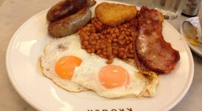 Photo of Cafe Krüger at Cabot Pl, London E14 4QT, United Kingdom