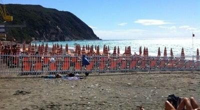 Photo of Beach Spiaggia di Riva Trigoso at Via Cristoforo Colombo, Sestri Levante 16039, Italy