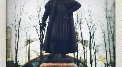 Photo of Monument / Landmark Памятник боярину Одинцу at Одинцово, Russia