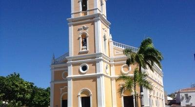 Photo of Church Igreja de São Vicente at Av. Alberto Maranhão, Mossoró, Brazil