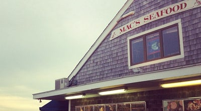 Photo of Seafood Restaurant Mac's Seafood Wellfleet Pier at 265 Commercial St, Wellfleet, MA 02667, United States