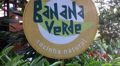 Photo of Vegetarian / Vegan Restaurant Banana Verde at R. Harmonia, 278, São Paulo 05435-000, Brazil