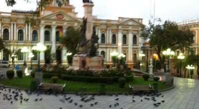 Photo of Plaza Plaza Murillo at Km. 0, La Paz, Bolivia