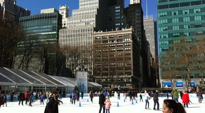 Photo of Skating Rink Winter Village at Bryant Park at 42nd Street And 5th Avenue, New York, NY 10018, United States