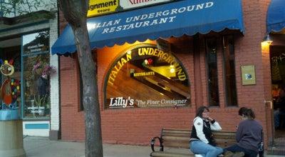 Photo of Italian Restaurant italian underground at 715 Grand Ave, Glenwood Springs, CO 81601, United States