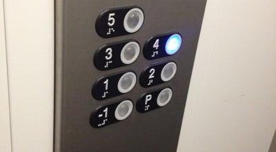 Photo of Art Gallery svi mi koji se foursquareamo u liftu jer to je kao da si u jednoj tocki a u stvari u vise tocaka at Croatia