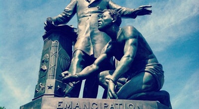Photo of Sculpture Garden Emancipation Monument at Lincoln Park Se/ne, Washington, DC 20003, United States