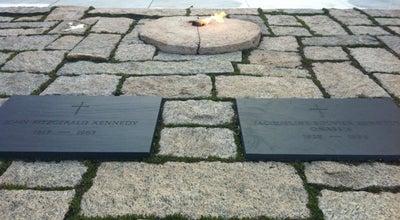 Photo of Monument / Landmark John F. Kennedy Eternal Flame at Arlington National Cemetery, Arlington, VA 22211, United States