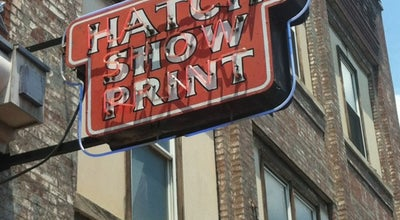 Photo of Arts and Crafts Store Hatch Show Print at 224 5th Ave S, Nashville, TN 37203, United States