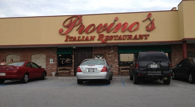 Photo of Italian Restaurant Provino's at 5084 S Terrace Pl, Chattanooga, TN 37412, United States