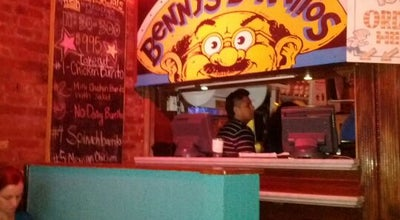 Photo of Mexican Restaurant Benny's Burritos at 93 Avenue A, New York, NY 10009, United States