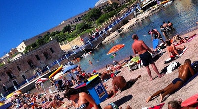 Photo of Beach St. George's Bay at St. George's Bay, St. Julian's, Malta