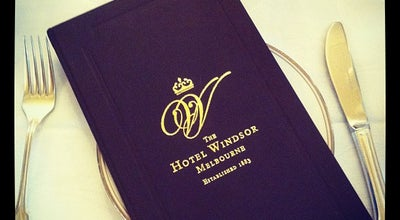 Photo of Hotel The Hotel Windsor at 111 Spring St, Melbourne, Vi 3000, Australia