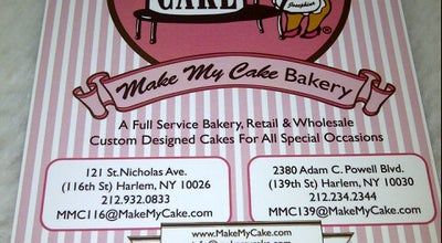 Photo of Bakery Make My Cake at 121 Saint Nicholas Ave, New York, NY 10026, United States