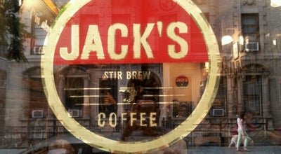 Photo of Coffee Shop Jack's Coffee at 140 W 10th St, New York, NY 10014, United States
