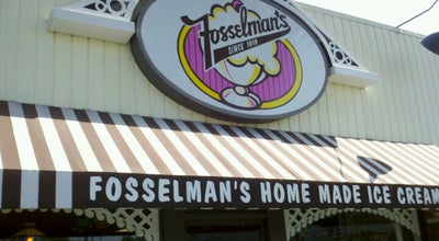 Photo of Ice Cream Shop Fosselman's Ice Cream Co. at 1824 W Main St, Alhambra, CA 91801, United States